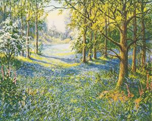 Bluebell Valley by John Halford Ross