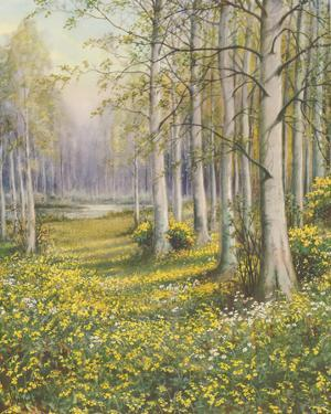 The Cowslip Field by John Halford Ross