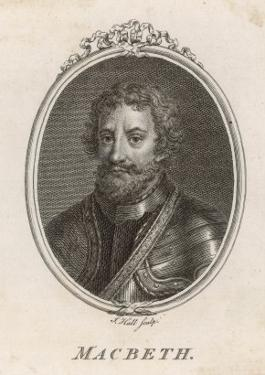 Macbeth, Scottish King Conspirator and Later Slain in Battle by Malcolm III by John Hall