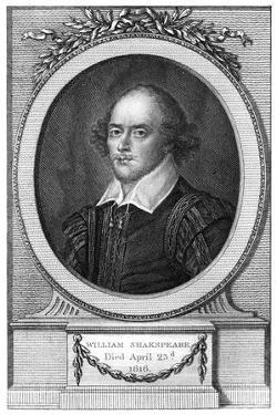 William Shakespeare, English Poet and Playwright by John Hall