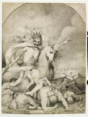 Death on a Pale Horse, C.1775 (Pen and Black Ink on Wove Paper) by John Hamilton Mortimer