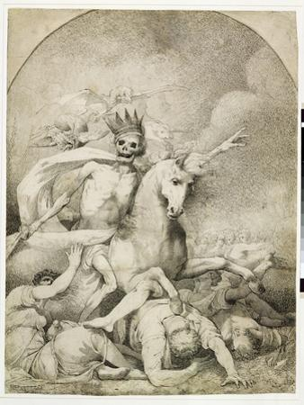 Death on a Pale Horse, C.1775 (Pen and Black Ink on Wove Paper)