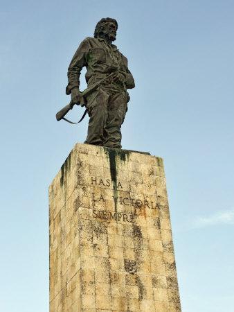 Commander Ernesto Guevara (El Che) Memorial Sculpted by Jose Delarra, Plaza De La Revolucion, Cuba