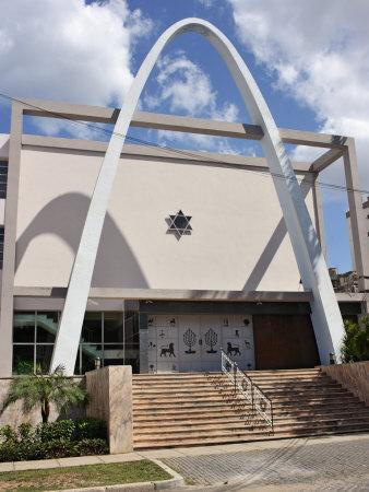 Synagogue and Jewish Community Centre, Vedado, Havana, Cuba, West Indies, Central America