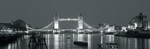 Tower Bridge Reflections by John Harper