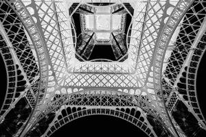 X-ray - Beneath the Eiffel Tower by John Harper