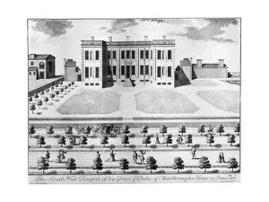 Marlborough House from the South-West, 17th Century by John Harris
