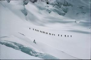 An expedition led by Edmund Hillary attempts to climb Makalu. by John Harrison