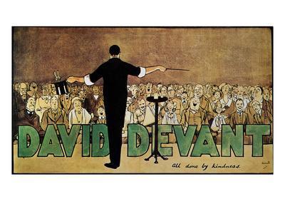 David Devant: Poster c1910