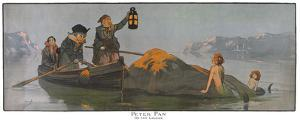 Peter Pan On The Lagoon by John Hassall
