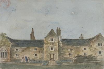 Ellis Davy's Almshouses, Croydon, Surrey, C1800