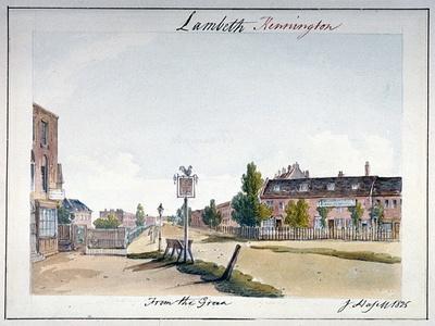 View of Kennington, Lambeth, London, 1825