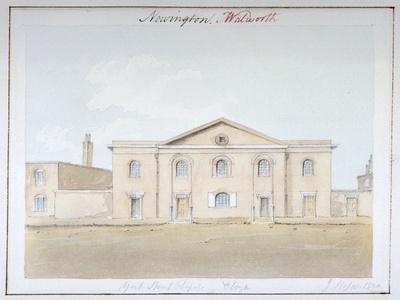 York Street Chapel, Southwark, London, 1824