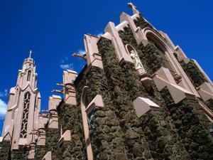 Exterior Detail of Stone Church Flagstaff, Arizona, USA by John Hay