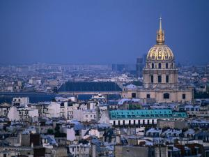 Napoleon's Tomb, in Eglise Du Dome of Hotel Des Invalides, from Eiffel Tower Paris, France by John Hay