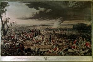The Field of Waterloo as it Appeared the Morning after the Memorable Battle of the 18th June… by John Heaviside Clark
