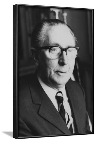 John Hector Cutten, Psychical Researcher--Framed Photographic Print