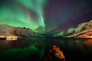Nightview in the Fjord by John Hemmingsen