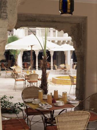 Dining Area, Usha Kiran Palace Hotel, Gwalior, Madhya Pradesh State, India by John Henry Claude Wilson