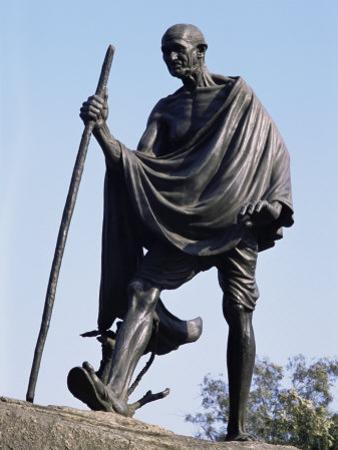 Mahatma Gandhi, the Eleven Statues, Delhi, India by John Henry Claude Wilson