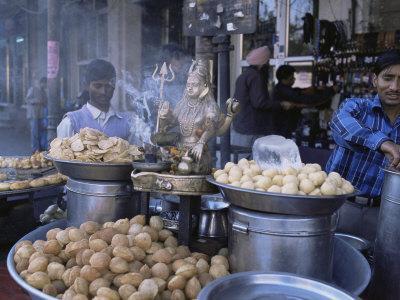 Street Food, Delhi, India