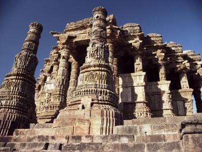 The Sun Temple of Modhera, Modhera, India by John Henry Claude Wilson