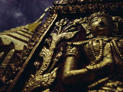 Wat Pra That, Chiang Mai, Chiang Mai Province, Thailand, Asia by John Henry Claude Wilson
