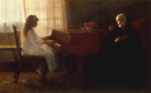 The Two Generations by John Henry Frederick Bacon