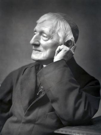 John Henry Newman, British Cardinal, Late 19th Century