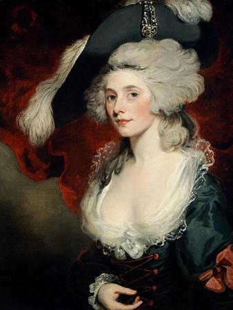 Mary Robinson (1758-1810) as 'Perdita' by John Hoppner