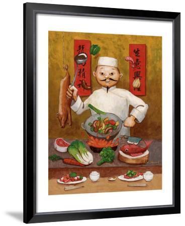 Wok-Man, Chinese Chef by John Howard