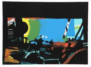 Wide Window II by John Hultberg