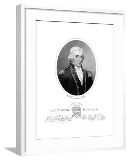 John Hunter, Naval--Framed Giclee Print