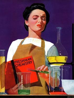 """Freshmen Chemistry,"" May 4, 1940 by John Hyde Phillips"