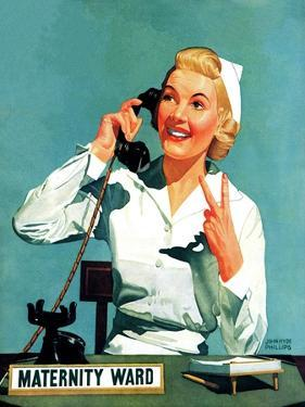 """Maternity Ward,"" December 14, 1940 by John Hyde Phillips"