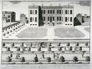 Marlborough House, Pall Mall, Westminster, London, C1720 by John I Harris