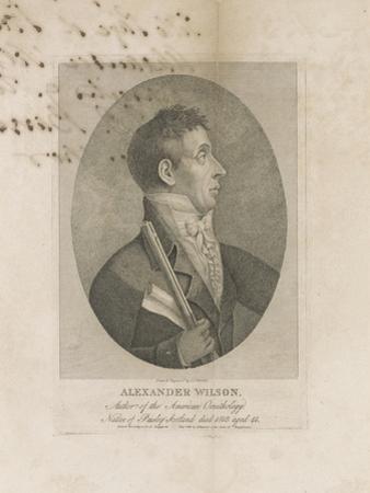 Alexander Wilson, 1814 by John James Barralet