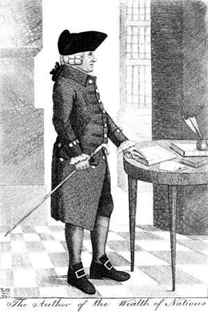 Adam Smith (1723-179), Scottish Philosopher and Economist, 1790