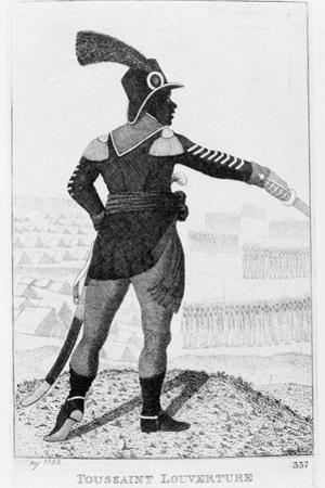 Francois Dominique Toussaint-Louverture, Haitian Revolutionary Leader, 1802