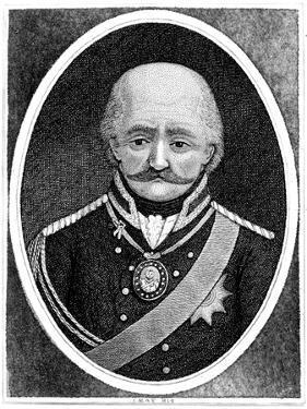 Gebhard Leberecht Von Blucher, Prussian General, 1814 by John Kay
