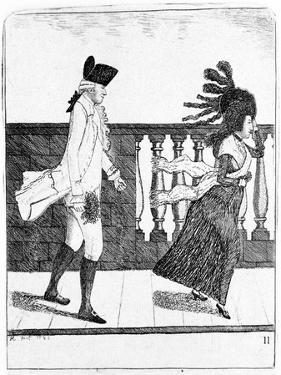 James Graham, Scottish Quack Doctor, 1795 by John Kay