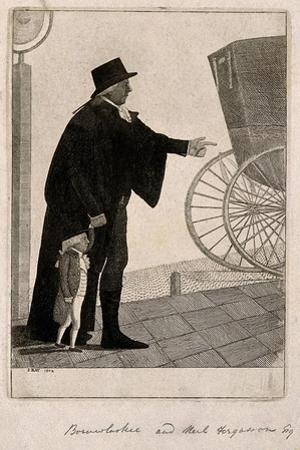 Jozef Boruwlaski, a Dwarf, and Neil Fergusson, 1802