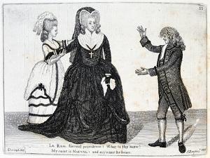 Sarah Siddons, English Actress, 1784 by John Kay