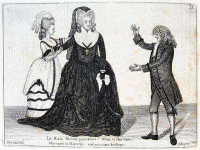 Sarah Siddons, English Actress, 1784