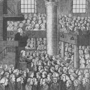 Sleepy Congregation, 1785 by John Kay