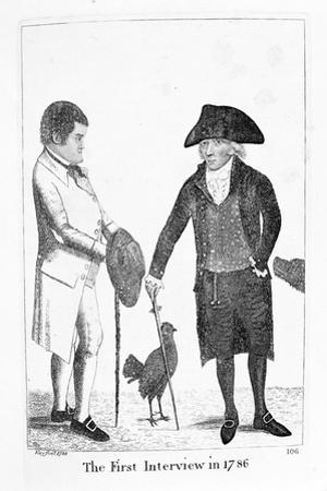 The First Interview in 1786' Between Deacon Brodie and George Smith, 1788