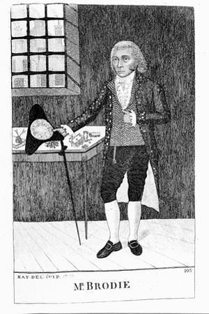 William Brodie, Scottish Cabinetmaker and Criminal, 1788