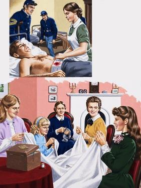 Louisa M. Alcott Becomea a Nurse During the American Civil War by John Keay