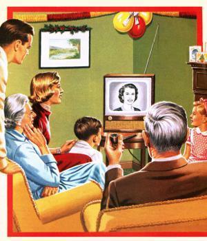 Queen Elizabeth Ii's First Christmas Tv Broadcast by John Keay