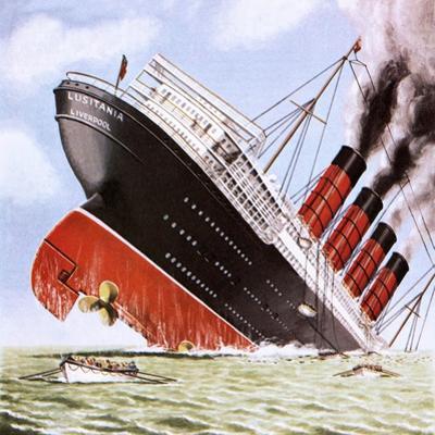 Sinking of the Lusitania by John Keay